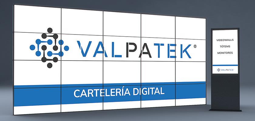 Valpatek Technology Group aumenta su presencia en proyectos de cartelería digital